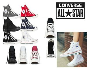 Converse-Unisex-Chuck-Taylor-Classic-All-Star-Lo-OX-Hi-Tops-Canvas-Trainers-New
