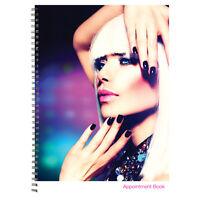 Salon Appointment Book, 4-colunm 8:00am To 9:00pm 200pg. Dl-c203
