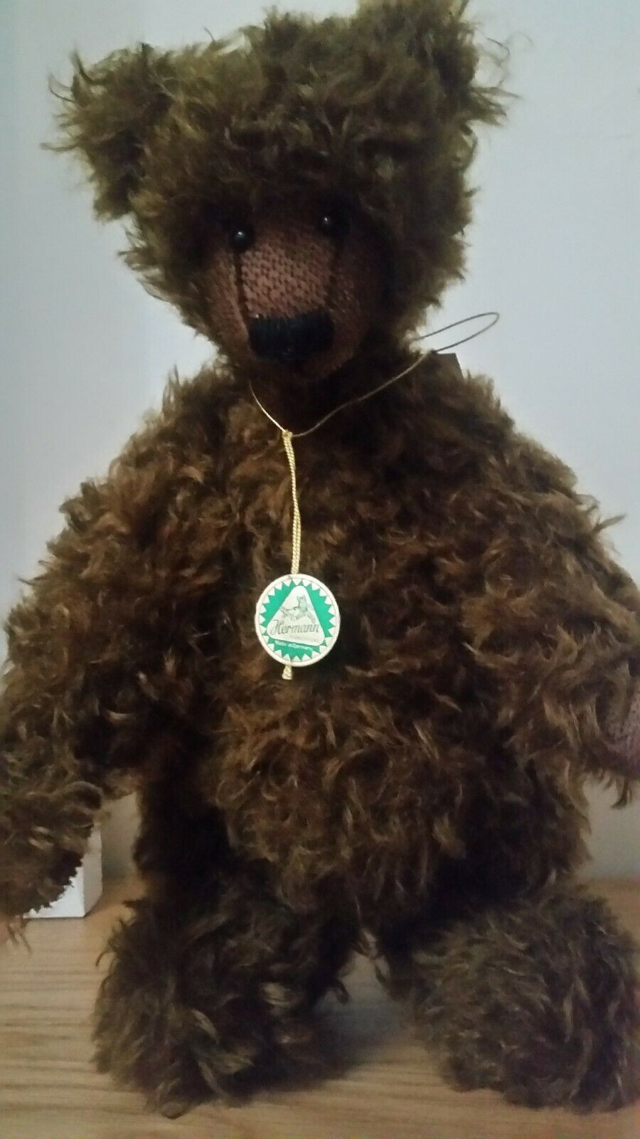 JEMAS  HERMANN MOHAIR BEAR  LIMITED EDITION NUMBER 100 of 500