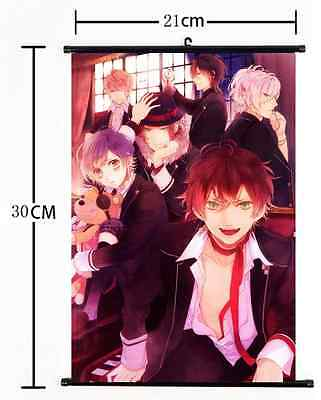 Anime DIABOLIK LOVERS double sided Pillow cushion Case Cover cosplay 90