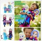 Poupée Peluche Elsa Anna Reine Des Neiges Frozen Plush Toy doll Christmas Gift