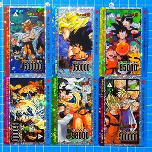 Dragon-Ball-Fan-Custom-Card-PrismCard-Set-6-Cards-Animate-PP-Card