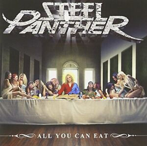 Steel-Panther-All-You-Can-Eat-Steel-Panther-CD-P4VG-The-Fast-Free-Shipping