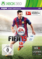Microsoft Xbox 360 Spiel Fifa 15 Fussball Soccer 2015 Fußball Football Neu