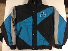 Vtg Triple FAT Goose Down NFL Carolina Panthers Winter Jacket Size Large