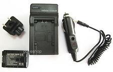 Battery + Charger for JVC Everio GZ-HM35BU GZ-HM40BU GZ-HM65BU FULL HD Camcorder