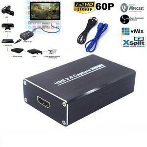 HD-1080p-USB-3-0-Hdmi-tarjeta-de-captura-de-video-juego-dispositivo-grabador-de-transmision-en-vivo