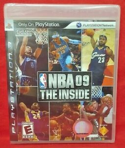 NBA-Basketball-09-The-Inside-PlayStation-3-PS3-Game-New-Factory-XY-Sealed