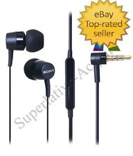 SONY MH750 STEREO HEADSET EARPHONE HANDSFREE HEADPHONE WITH MIC+3.5 MM JACK