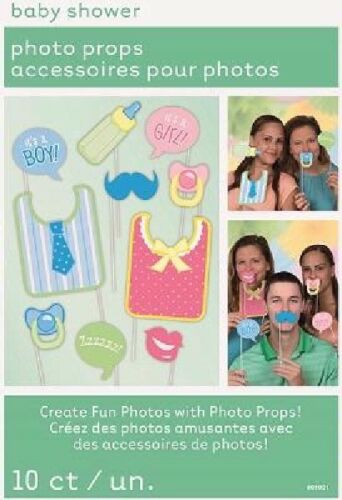 Various Baby Shower Photo Booth Props Selfie Accessories Party Fun Props