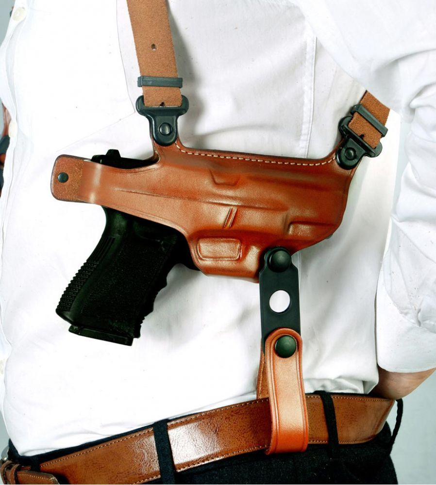 Sig Sauer Premium Leather Horizontal Shoulder Holster Fits SIG PRO 2340