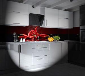 Details zu KüchenRückwand AluDibond auch für L und U Küchen Spritzschutz  Küche SP496