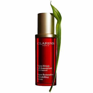 Clarins Super Restorative 1.06-ounce Serum (Unboxed) Eminence by Eminence - Pink Grapefruit Vitality Masque (Normal to Dry Skin) --60ml/2oz - WOMEN