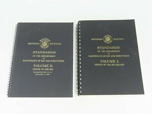 Southern-Railway-Standards-Volumes-1-amp-2-by-SRHA-1989-SC-Books