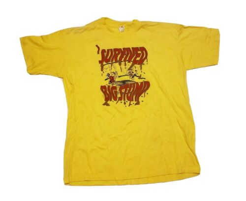 Vintage Boy Scouts (BSA) SURVIVED BIG STUMP T-Shir