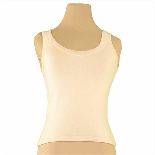 Valentino Tank top  Beige Woman Authentic Used T7415