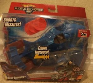 HOT-WHEELS-BATTLE-FORCE-5-WATER-SLAUGHTER-amp-SEVER-NEW