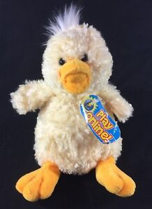 TY Quackly Duck Plush Beanie Babies 2.0 Collection Yellow 5.5
