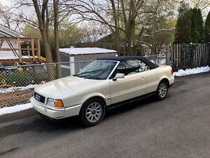 1996 Audi Cabriolet $4800