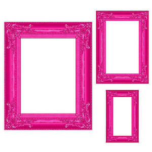 Pink Frame Prop Set of 3 You will receive three