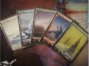 FULL-ART Modern Horizons Magic MTG MINT CARD FOIL SNOW-COVERED MOUNTAIN