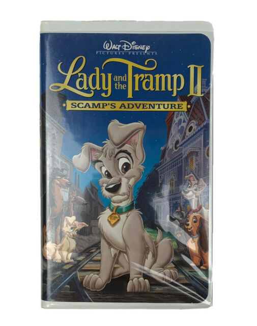 Lady And The Tramp Ii Scamps Adventure Vhs 2006 For Sale Online Ebay