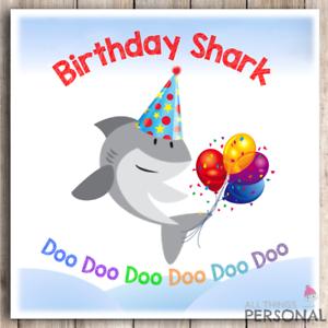 Doo doo doo doo doo doo Stationery & Party Supplies Baby Shark Birthday Card Stationery