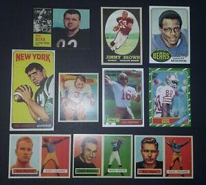 Rookie-Card-Lot-Jim-Brown-Joe-Namath-Joe-Montana-Jerry-Rice-John-Unitas