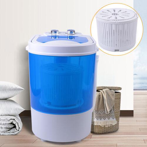 6KG Mini tragbare Waschmaschine Wäscherei Schleudern Waschmaschine Trockner