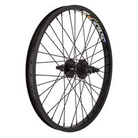 20 Alloy Bmx Rear Wheel With 9 Tooth Driver Double Wall Rim With 14mm Axle