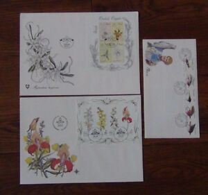 3-x-FDC-Venda-1981-Orchids-M-S-Transkei-1983-Fly-Fishing-South-Africa-81-Orchids