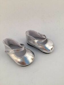 2016-coo-kid-fashion-silver-white-shoes-for-18inch-American-girl-doll-party-b300