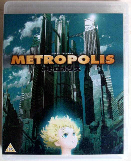 METROPOLIS - 2001 - BLU-RAY & DVD - RINTARO / OSAMU TEZUKA - ANIME - EUREKA!