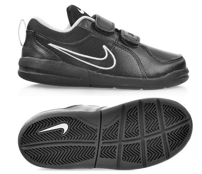3952ab3e9d82 Shoes Nike Pico 4 PSV Kids Shoes Trainers Leather 454500001 EUR 35 Black  454500-001 for sale online