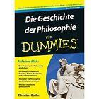 Die Geschichte der Philosophie Fur Dummies by Christian Godin (Paperback, 2016)