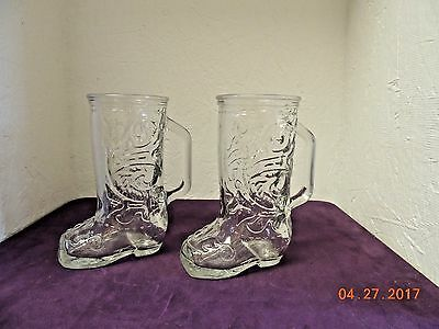 Cowboy Boot Glasses Collection On Ebay