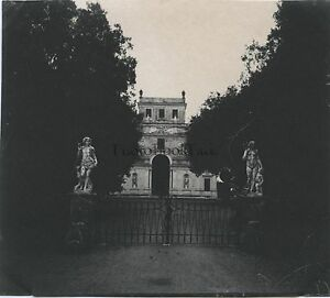 Villa Doria Pamphilj Roma Italia Foto Amateur Vintage Ca