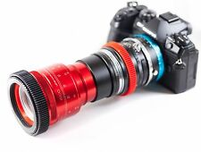 Isco Micro RED Anamorphic Lens NEW SINGLE FOCUS setup, for all DSLR Cameras