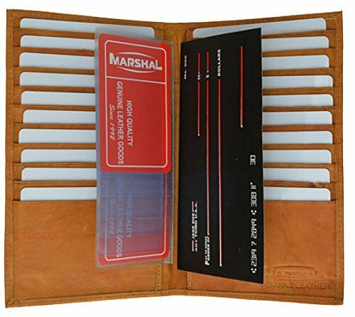 529CF Leather Multiple Credit Card and Checkbook Holder style