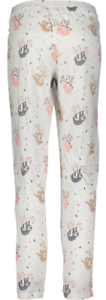 Sloths on Sleepwear White Sloth Friend Pajama Bottoms by ISAAC MIZRAHI New