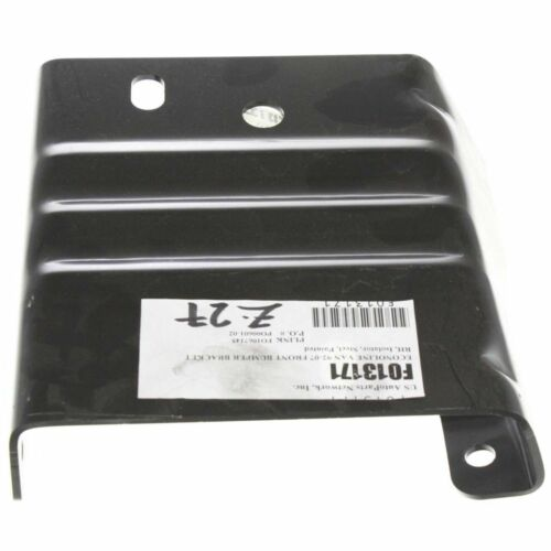 Front Set Of 2 LH /& RH Side Steel Bumper Bracket Isolator Fits Ford E150 E250