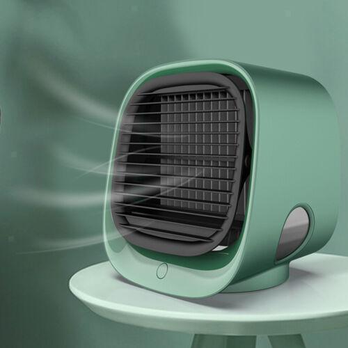 Portable Air Conditioner Desktop Cooler Purifier Humidifier USB Mini Cooling Fan