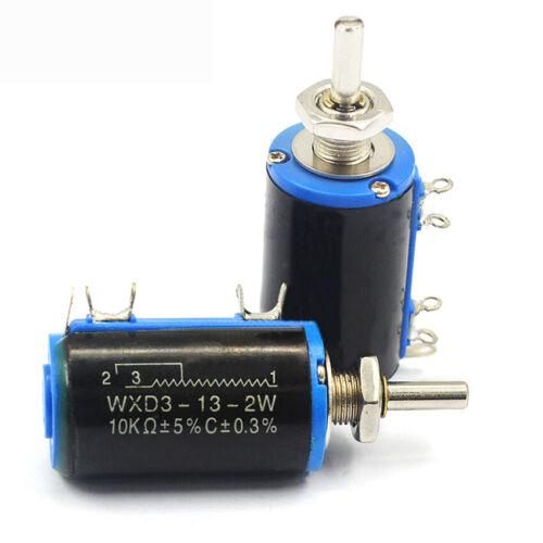 WXD3-13-2W 10K Precision Multiturn Wirewound Potentiometer Sliding Rheostat