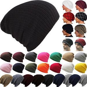 Unisex-Winter-Warm-Oversized-Slouch-Beanie-Hat-Knitted-Skull-Cap-For-Men-Women