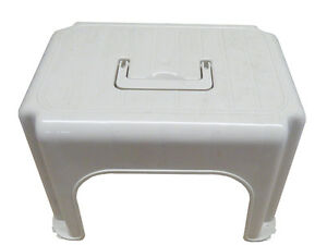 Plastic Kitchen Step Stool With Carry Handle Small