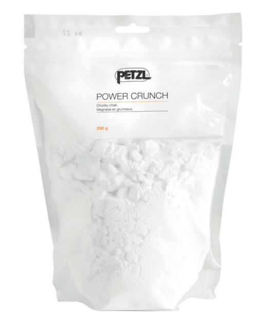 Petzl Power Crunch Chunky Chalk 200G Packet White
