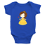 Infant-Baby-Rib-Bodysuit-Jumpsuit-Romper-Clothes-Beauty-amp-Beast-Princess-Belle thumbnail 7