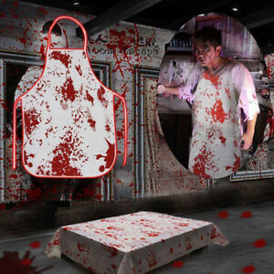 Decor-Bloody-Apron-Blood-Handprint-Haunted-House-Tablecloth-Halloween-Props