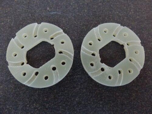 1 Paar Gfk spezial für Ansmann Virus Terrier Tuning Bremsscheibe-n Bremse