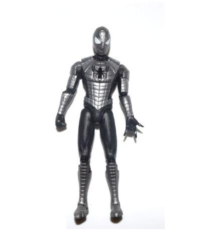 "Marvel Universe Infinite Series Silver Spiderman 3.75/"" Loose Action Figure"